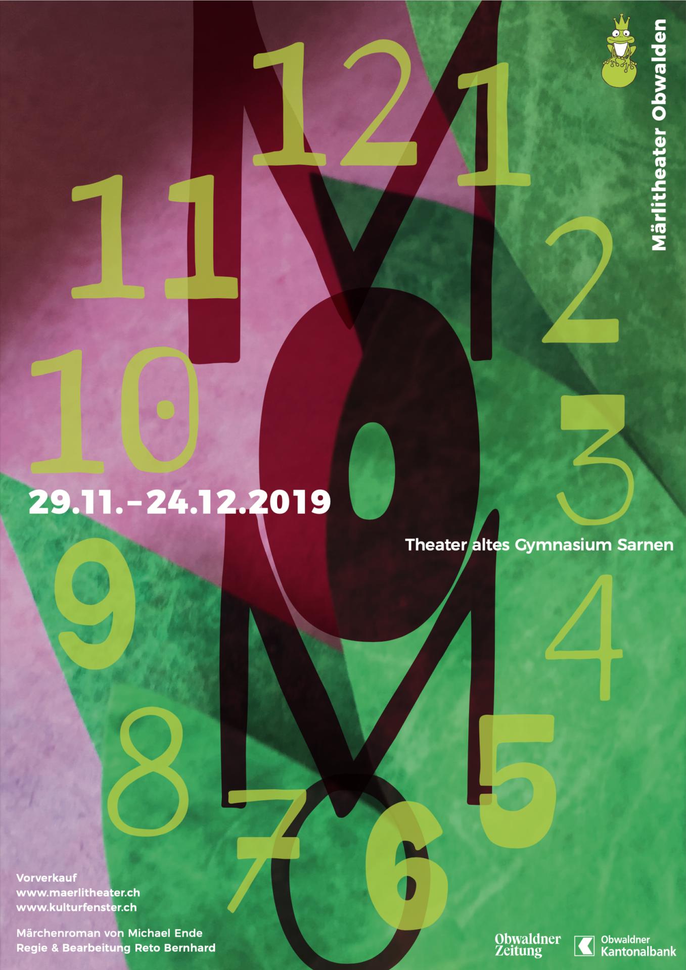 Maerlitheater 2019 – Flyer Momo