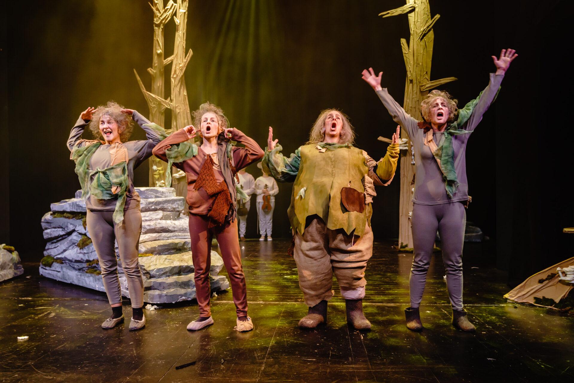Verlorene Stunde Märlitheater Obwalden 2018 – Foto Ingo Höhn